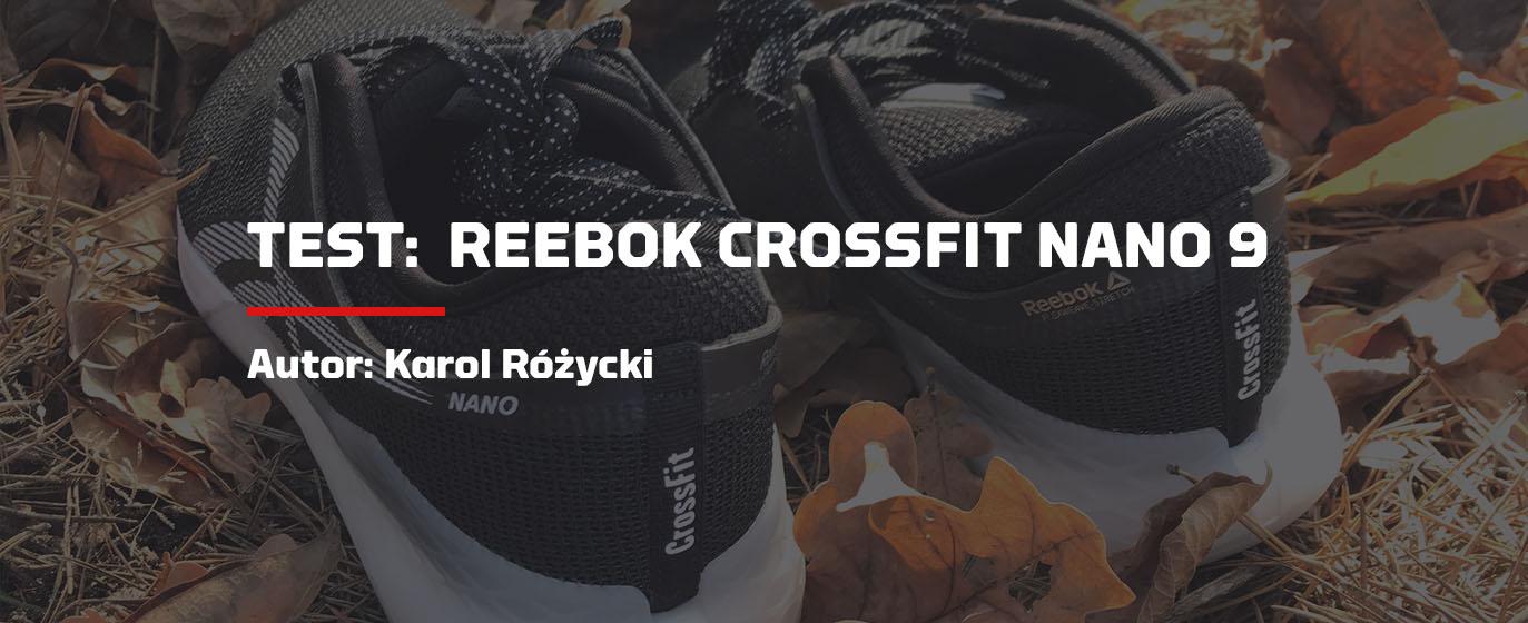 Buty Reebok CrossFit CrossFit Nano 8 Flexweave CzarneReebok