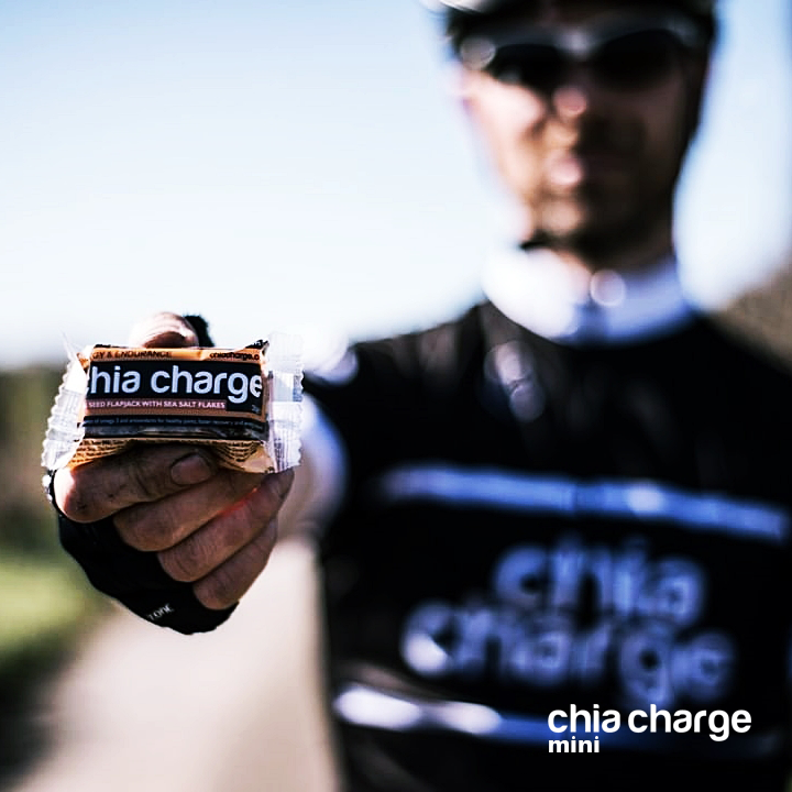 Small Chia Charge Flapjack Energy Bar ORIGINAL Flavour