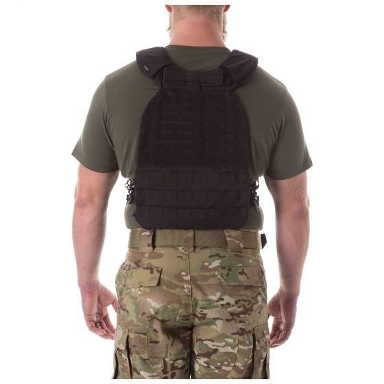 5.11 TacTec™ Plate Carrier Black + 5 kg Unbroken plates Set