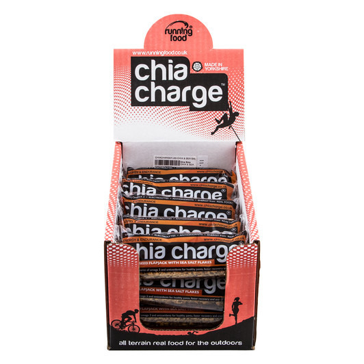 Chia Charge Flapjack Energy Bar ORIGINAL Flavour