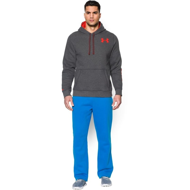 Bluza Under Armour Rival Graphic Hoody Gray