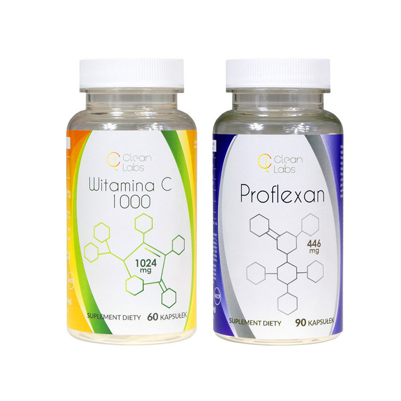 Clean Labs Supplement Set - Proflexan + Vitamin C