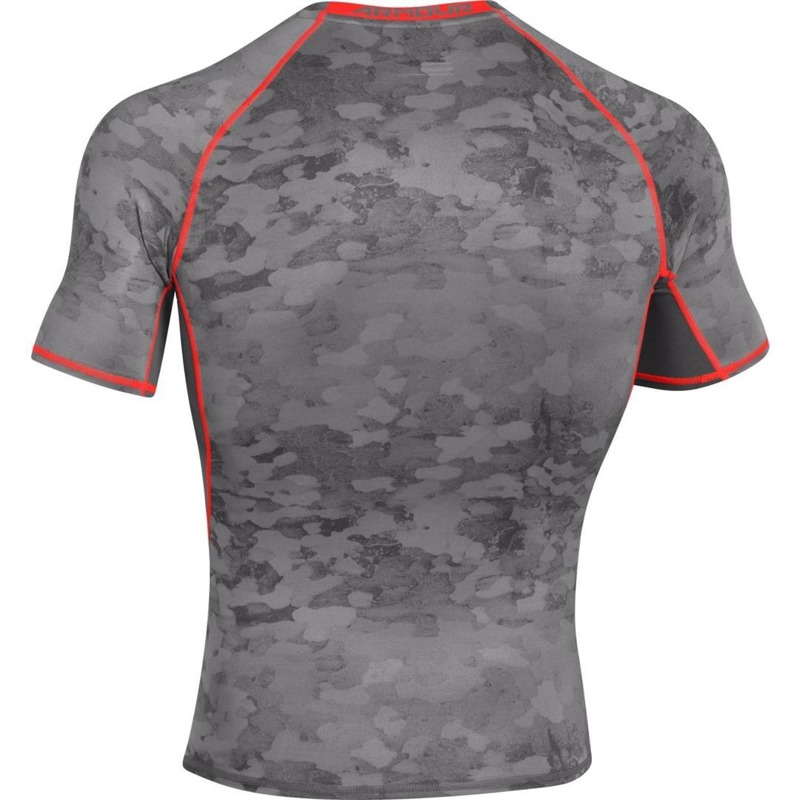 Koszulka Under Armour Compression Printed Graphite