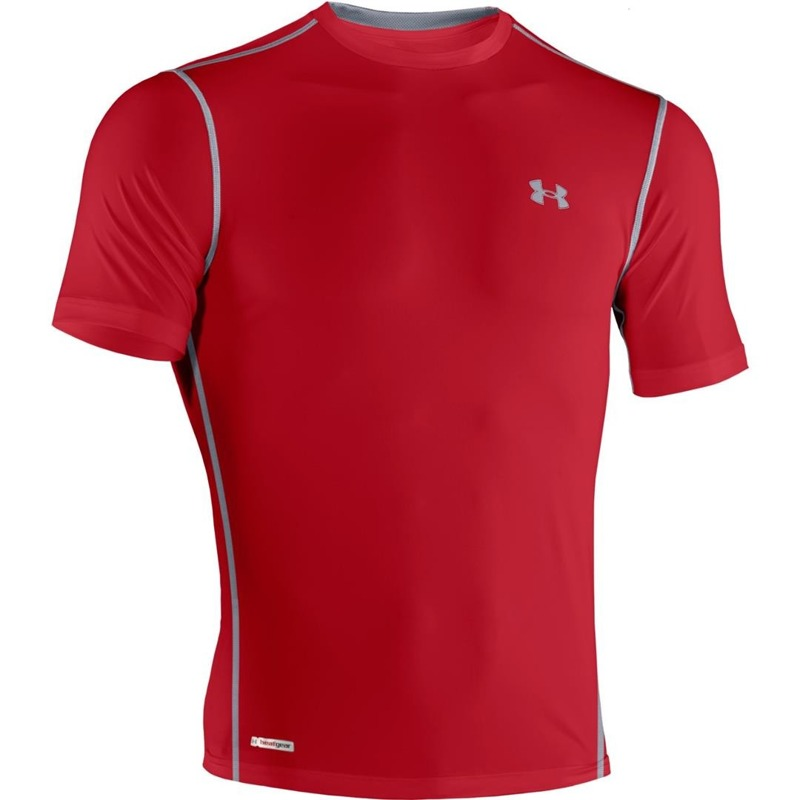 Koszulka Under Armour Sonic Red