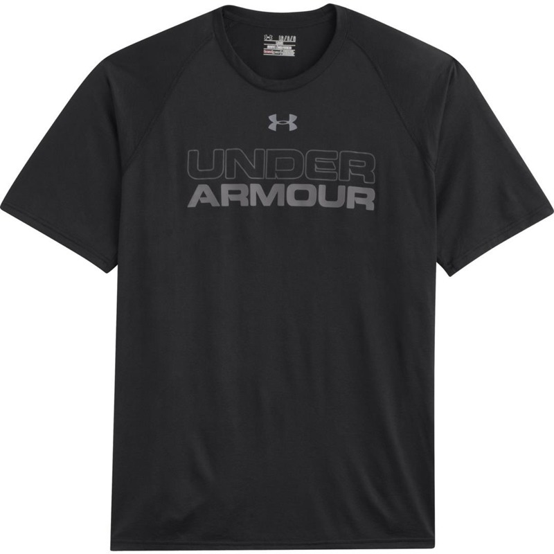 Koszulka Under Armour Wordmark Black