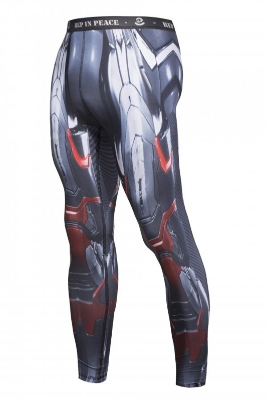 Legginsy M skie Rep In Peace IRON MAN
