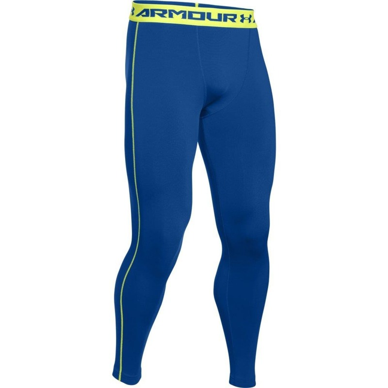 Legginsy M skie Under Armour Compression Blue