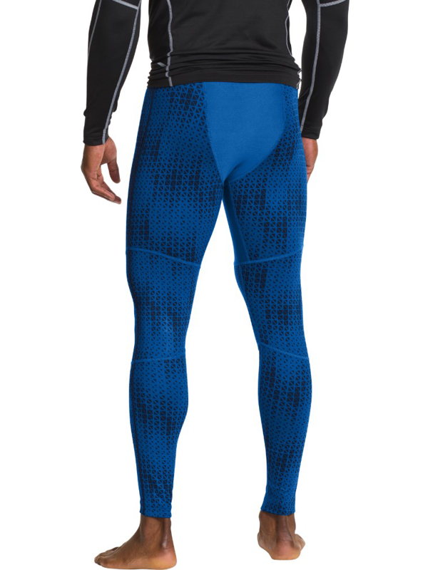 Legginsy Under Armour Evo ColdGear Printed Compression Blue