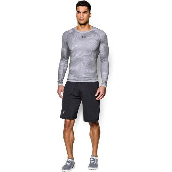 Longsleeve Under Armour Compression Printed Gray