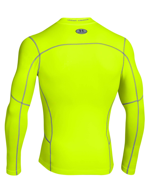 Longsleeve Under Armour Evo ColdGear Compression New Mock Yellow