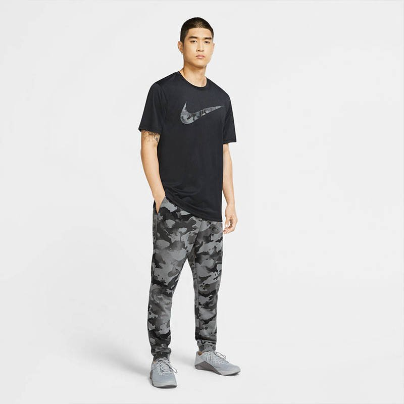 Men's Training T-Shirt Nike Camo Swoosh Dri-FIT