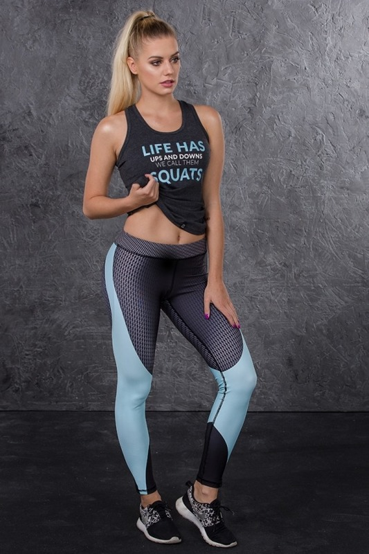 Rep In Peace Minty Women's leggins