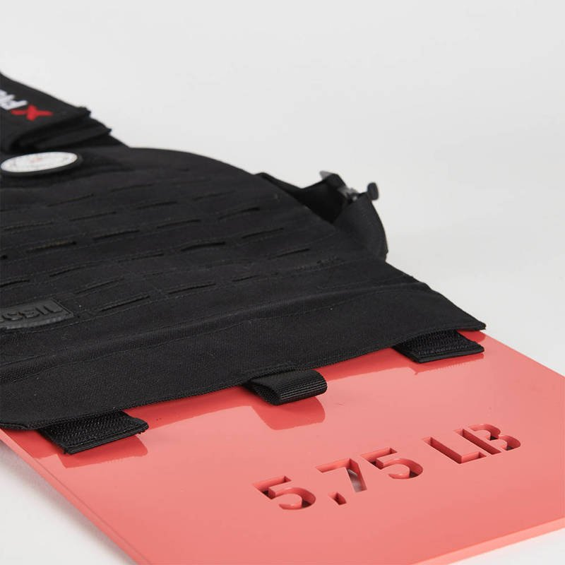 Set of Picsil Weighted Vest Plates 5 kg (2x 2.5 kg)