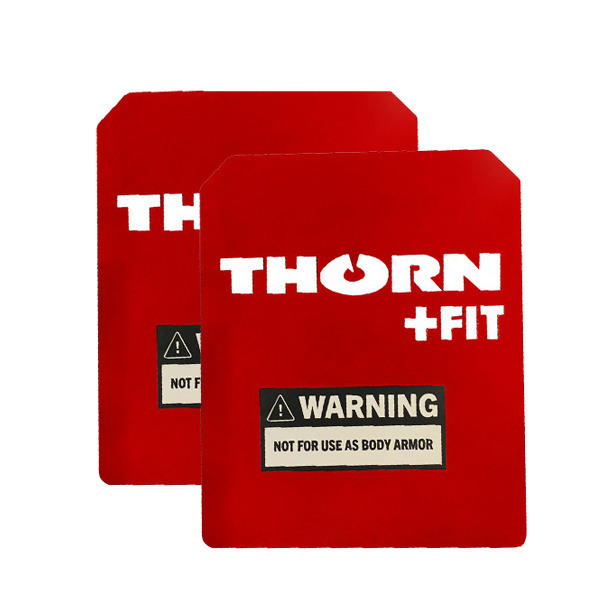 Set of Thorn Fit Weight Vest Plates 5 kg (2x 2.5 kg) Red