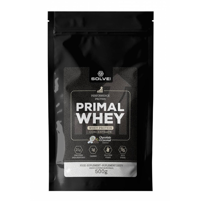 Solve Labs Chocolate - Coconut Primal Whey 500 g
