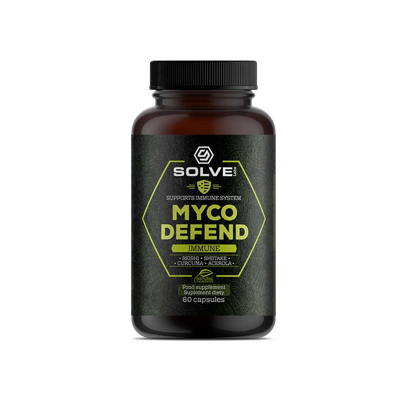 Solve Labs Myco Shield - Immune System Protection 60 caps