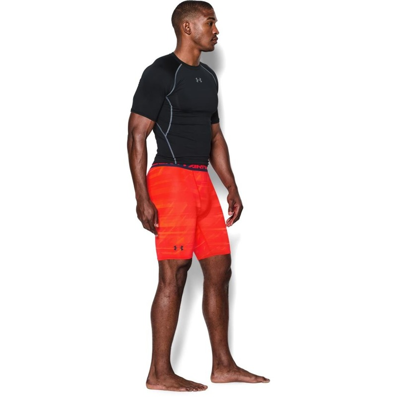 Spodenki Under Armour Compression Printed Orange