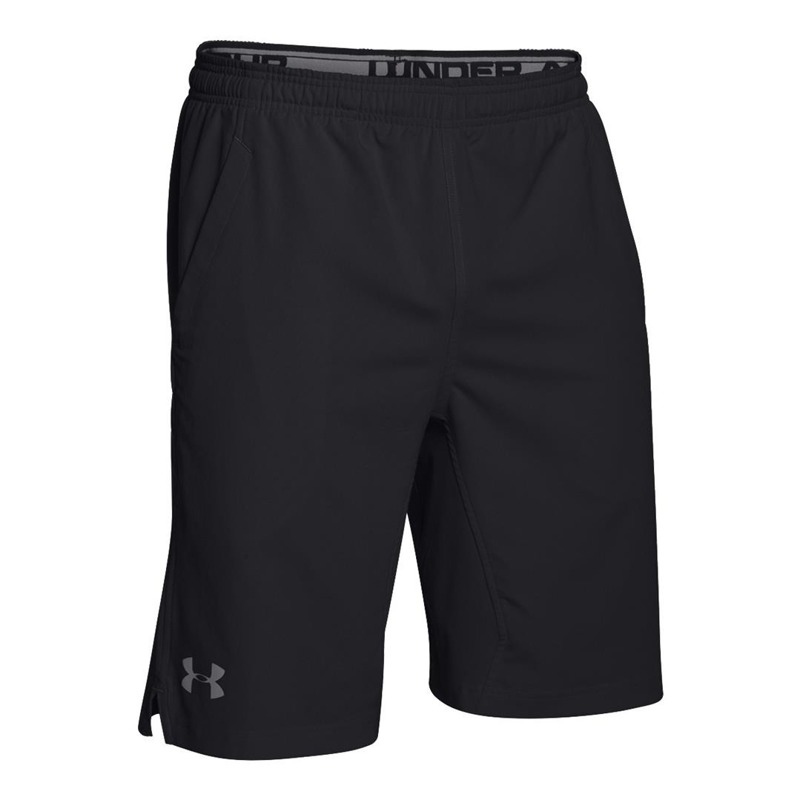 Spodenki Under Armour Hit Woven 8 quot  Black