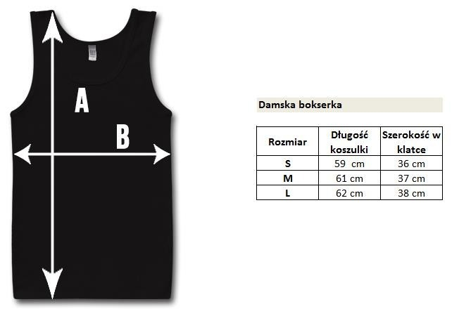 Tank Top Damski Barbell Nation Muscle Up  amp  Make Up