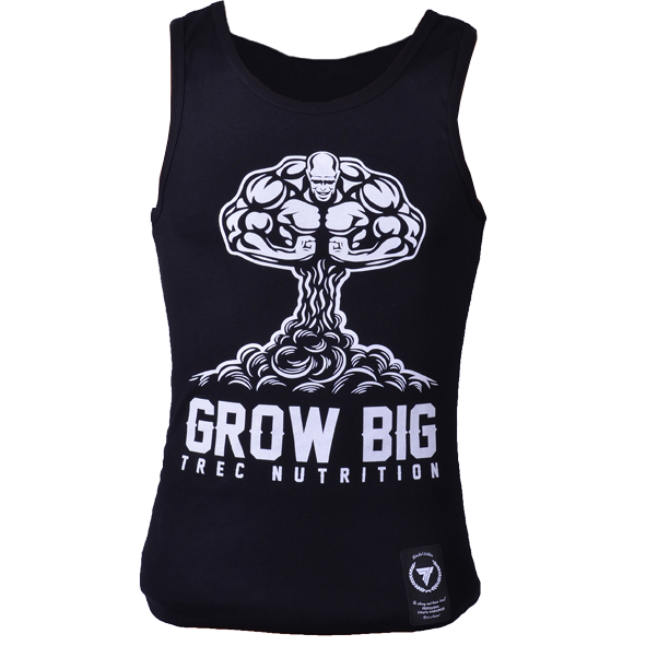 TankTop Trec 003 Grow Black