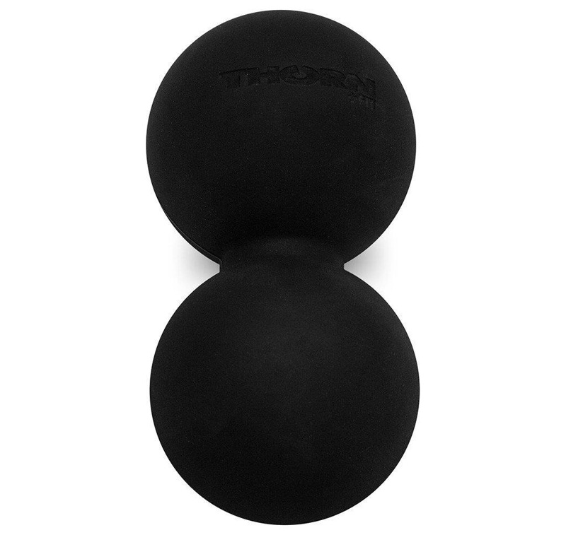 Thorn Fit Peanut Ball MTR Double Lacrosse 63 mm Black