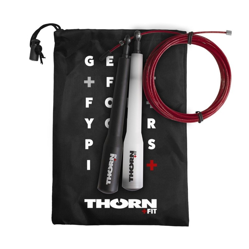 Thorn Fit Speed Rope 3.0 3 m Black - Transparent