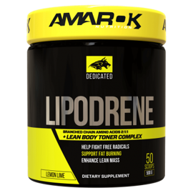 Amarok Dedicated BCAA + Lipodrene 500g
