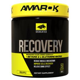 Amarok Dedicated BCAA + Recovery 500g