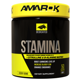 Amarok Dedicated BCAA + Stamina 500g