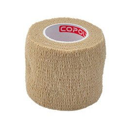 Copoly Cohesive Tape 5 cm Black Nude