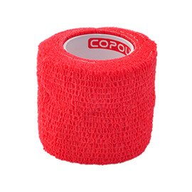 Copoly Cohesive Tape 5 cm Red