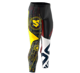 Smmash Cross Wear Graffiti Men's leggings