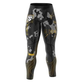 Smmash Cross Wear Map Men's leggings