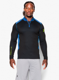 Bluza Under Armour ColdGear Infrared Grid 1 2 Zip Mock