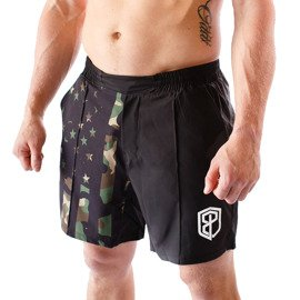Born Primitive Training Men's Shorts Black-Camo