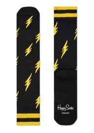 Happy Socks Athletic Thunders Black-Yellow