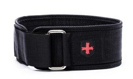 "Harbinger Nylon 4"" Nylon Belt Black"