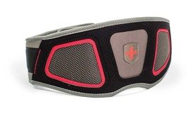 "Harbinger Nylon 6"" Flexfit Contour Belt Gray"