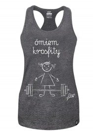 Rep In Peace Omiem Tank Top Gray