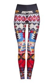 Deep Trip PERU women's leggings