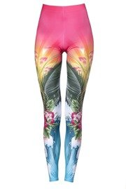 Deep Trip ALOHA women's leggings