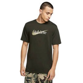 Men's Training T-Shirt Nike Athlete Camo Dri-FIT