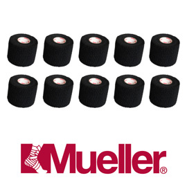 Mueller Tear light tape 6.9 m package (10 pcs.) Black