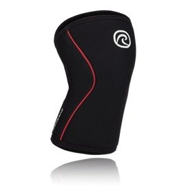 Rehband Rx Knee Sleeve 7mm Black - Red