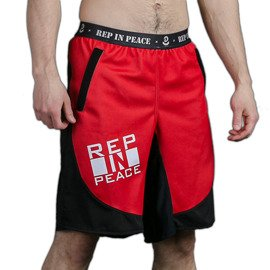 Rep In Peace Atomic Red Ultra Light Shorts