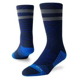 Stance Uncommon Train Crew Royal Socks