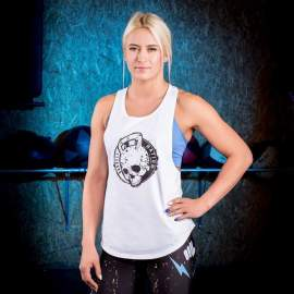 Tank Top Damski Barbell Nation Kettlebell Skull Women