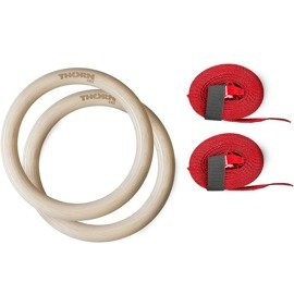 Thorn Fit Gymnastic Rings With Belts - Diameter 32 mm