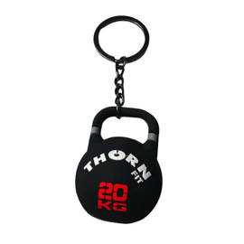 Thorn Fit Kettlebell Rubber Black Keychain