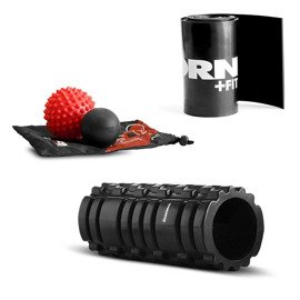 Thorn Fit PRO Set - Roller + Lacrosse + Spiky Ball + Wide Floss Band